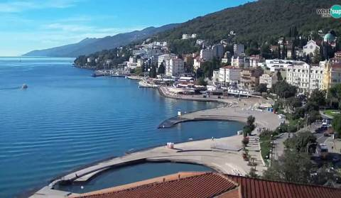 Opatija - panoramic view