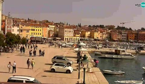 Rovinj - Seaside promenade