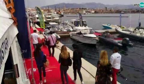 Croatia Boat Show, a view of the waterfront