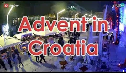 Advent in Croatia - Live on LiveCamCroatia