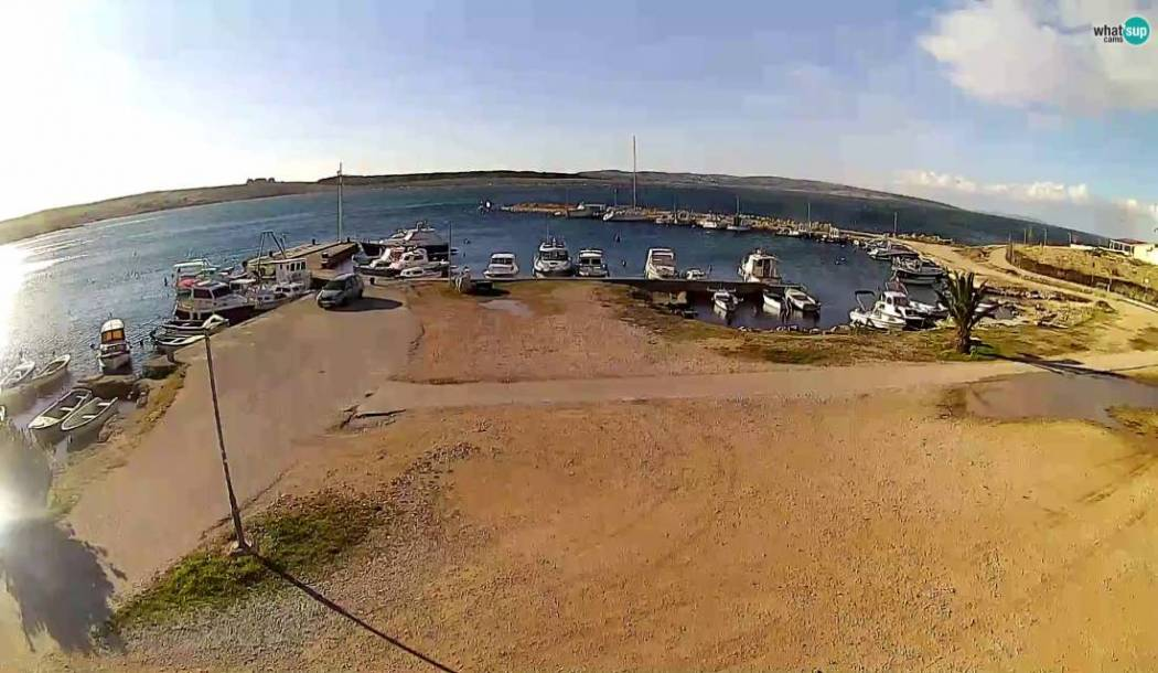 Povljana - new webcam on island of Pag