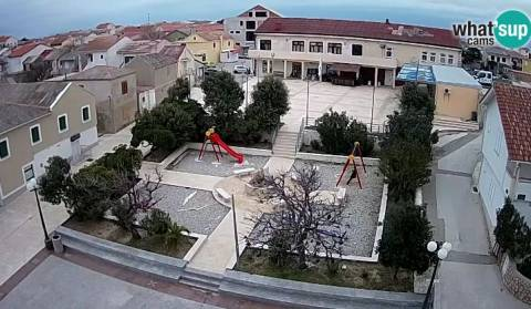 New webcam in the center of Povljana