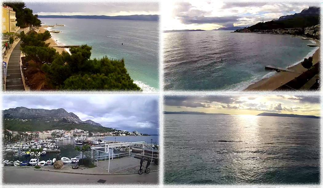 New HD technology webcams in Podgora