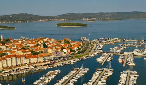Biograd na Moru video u 360°