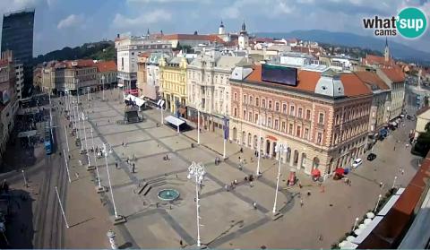Zagreb Cvjetni Trg Zagreb Upravo Sada Uzivo Livestreaming