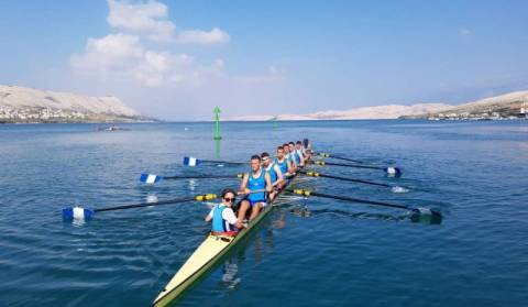 Rowing weekend on island Pag