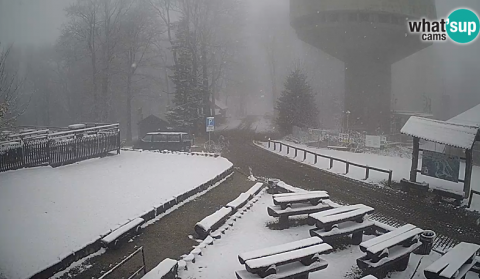 Snow on Sljeme