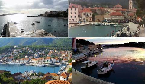 Island of Hvar has two new webcams