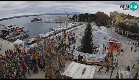 Adria Advent maraton, Crikvenica 01.12.2019. time lapse