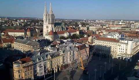 Zagreb Panorama Zagreb Upravo Sada Uzivo Livestreaming