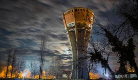 Grand opening of the Vukovar Water tower