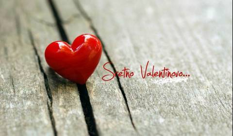 Valentine's Day - the day when love is celebrated