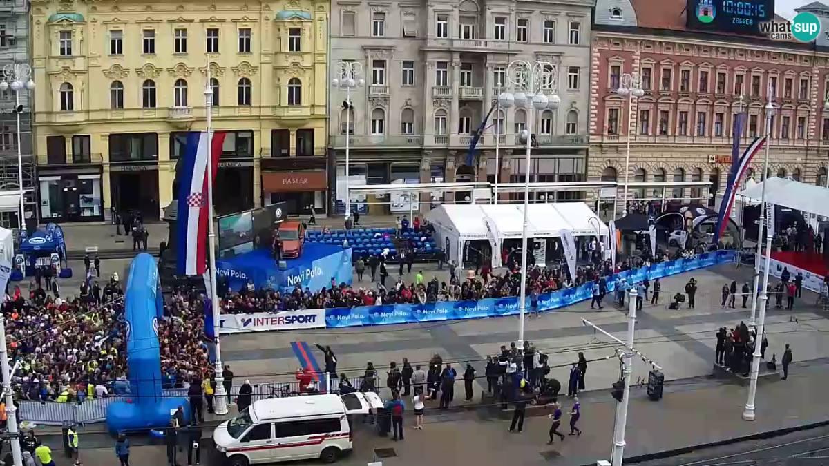Zagreb Ban Jelacic Live Kamera Livecamcroatia Istrazi Hrvatsku