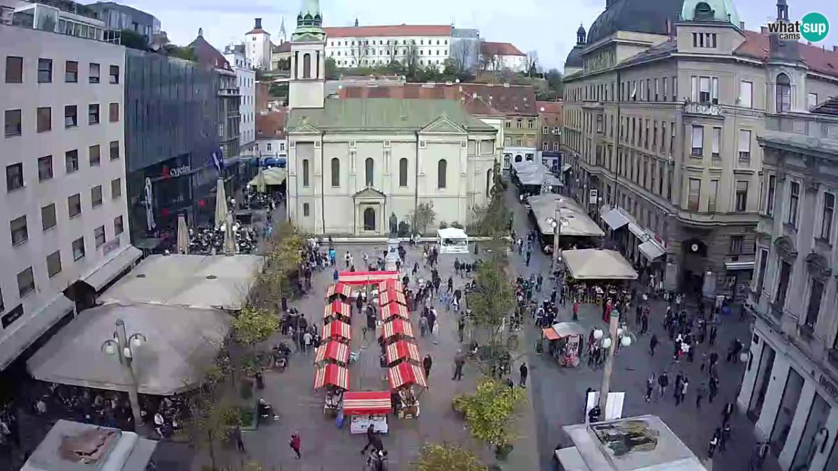 Zagreb Cvjetni Trg Zagreb Upravo Sada Uživo