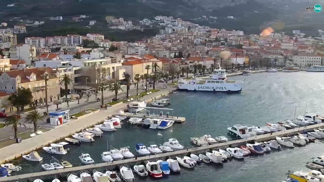 Webcam Makarska