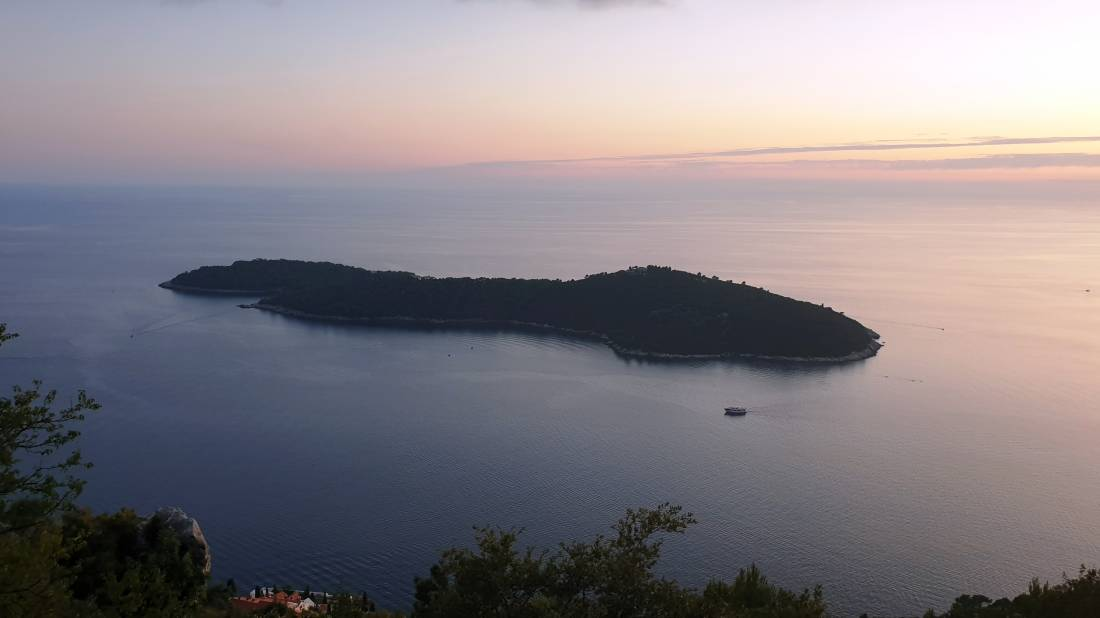 Novouređeni Botanicki Vrt Otok Lokrum Dubrovnik Upravo Sada