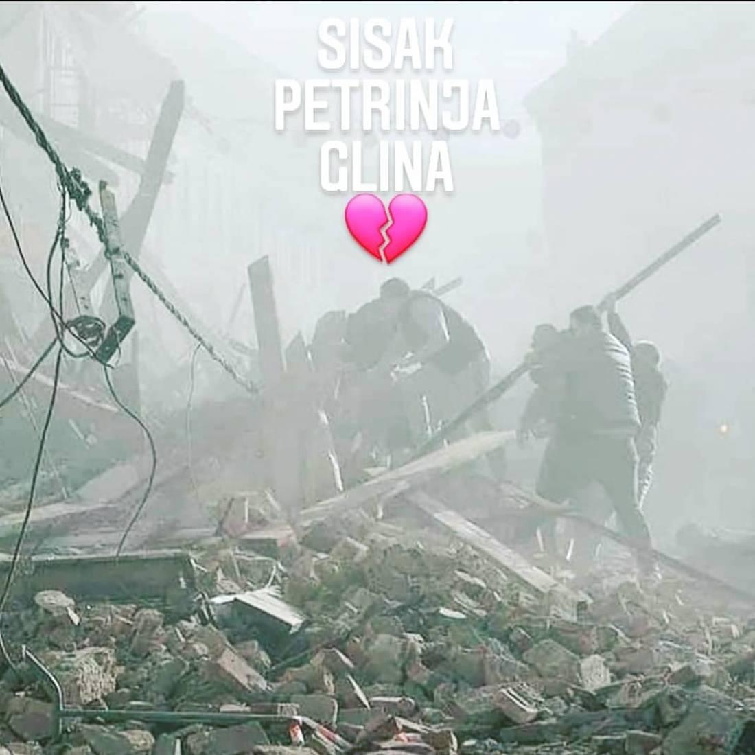 Potres Petrinja, Sisak, Glina - Novosti - LiveCamCroatia, Istra�i Hrvatsku