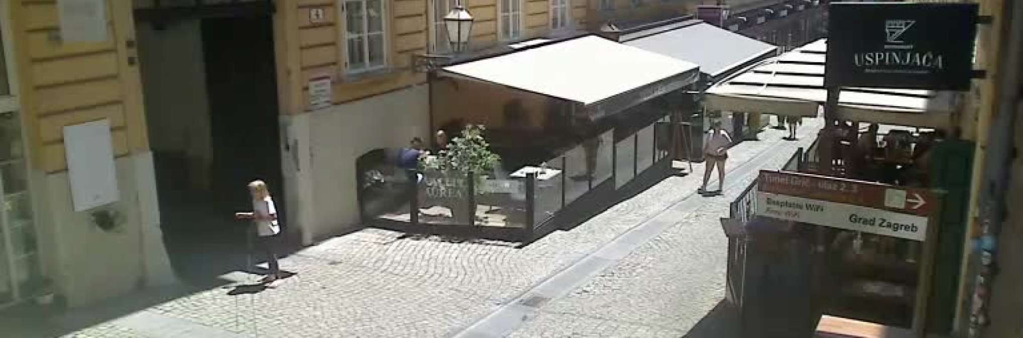 Zagreb Tomiceva Street Zagreb Right Now Live Livestreaming Cameras From Croatia Livecamcroatia Explore Croatia
