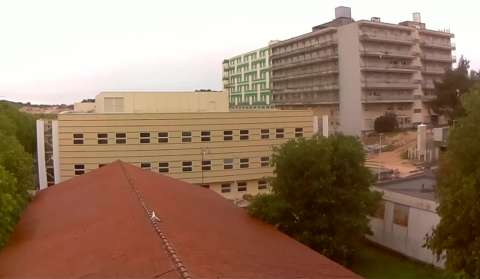 Pula new hospital - Building yard (1)