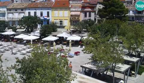 Crikvenica, the center and the waterfront, PTZ webcam