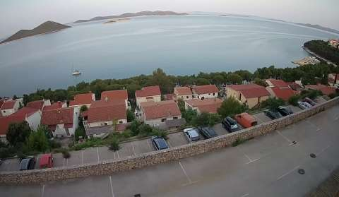 Drage panorama - view towards Kornati Islands
