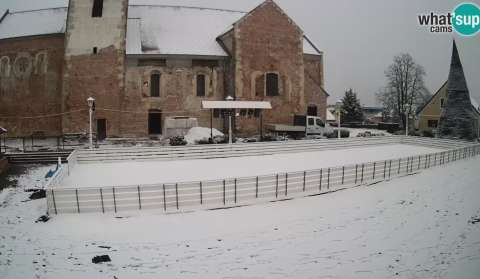 Čazma, Advent Ice skating