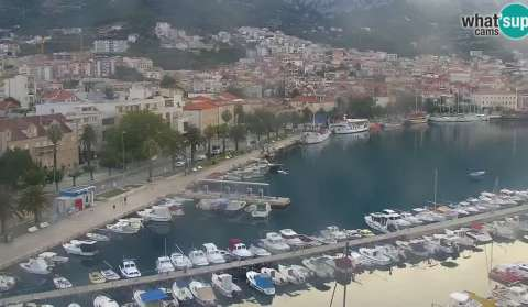 Makarska, PTZ webcam