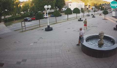 Novska City Centre and Promenade, Ogrc Fountain