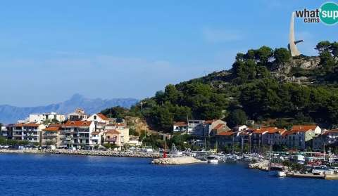 Podgora - beach, HD PTZ cam