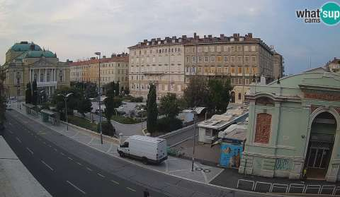 Rijeka - view on HNK Ivan pl. Zajc, TOP TEN!
