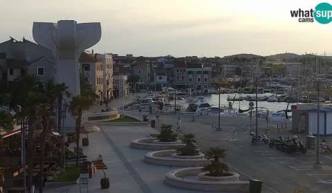 Vodice, ptz webcam
