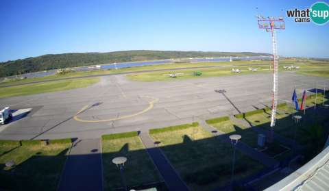 See Pleso Airport Live Webcam Weather Report In Pleso Zagreb County Hr Seecam