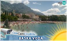 Baska Voda – plaža