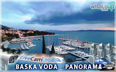 Baška Voda - panorama