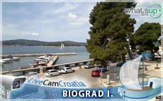 Biograd na Moru - gradski trg