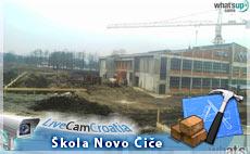 Novo Čiče, Škola  - Gradilište