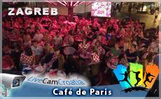 Café De Paris, Zagreb