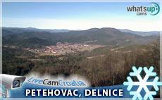 Delnice panorama, pogled sa Petehovca