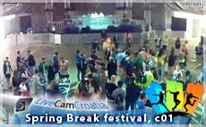 Spring Break festival, 2015 - webcam 01