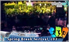 Spring Break festival, 2015 - webcam 02
