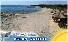 Gajac II. - plaža, pogled sjever