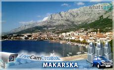 Makarska - trg i marina