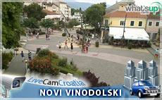 Novi Vinodolski - glavni trg