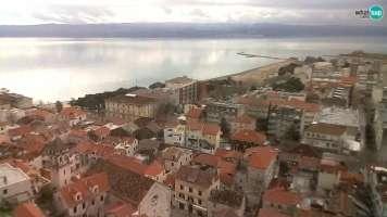 Omiš - pogled na stari grad