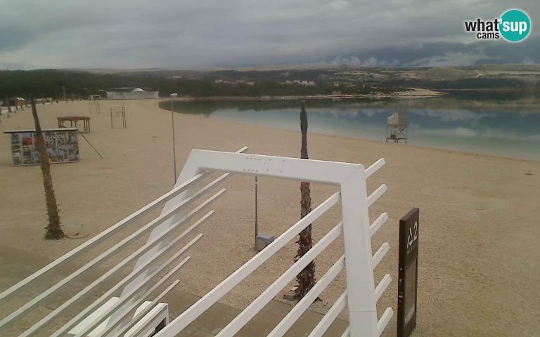 Zrće, plaža