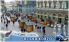 Grad Rijeka, pogled na Korzo
