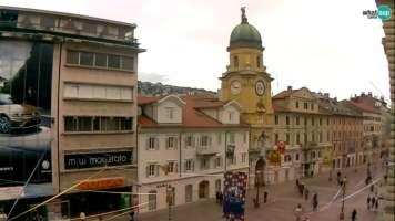 Rijeka - Gradski toranj  - Korzo