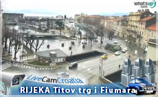 Rijeka - Tito square and Fiumara