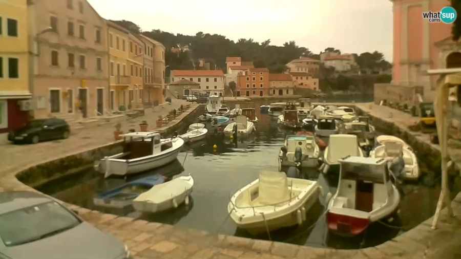 Veli Losinj, the harbor