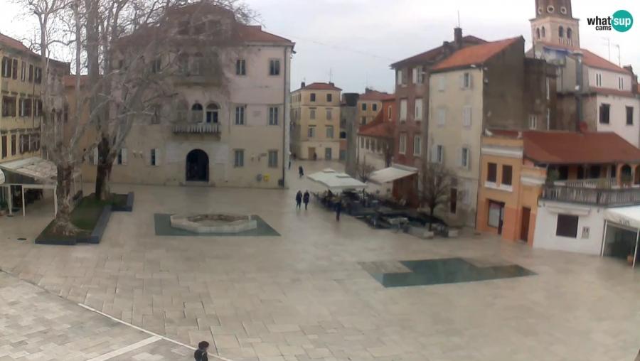 Zadar - Trg Petra Zoranica